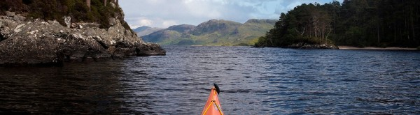 paddling the Great Glen!