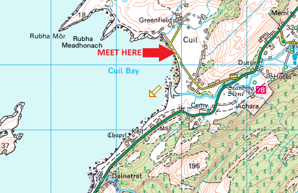 Cuil Bay meeting place