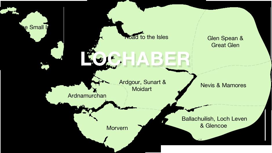 Lochaber Scotland Map.Lochaber Geotrails Lochaber Geopark