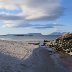 Eigg from Morar by Ian Parsons