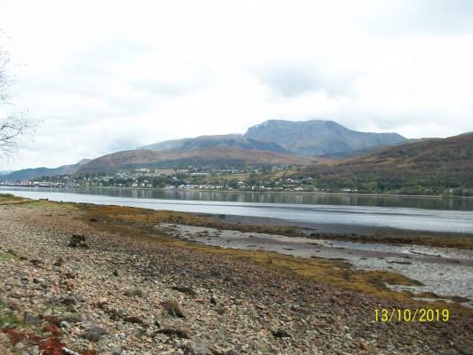 Ben Nevis across the Loch from south of Treslaig